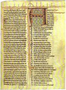 Hadewijch: gedicht (handschrift)