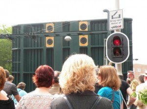 Android, 2009 (Roel van Timmeren in collaboration with the composers Rozalie Hirs, Gerda Geertens, Huba de Graaf, Mayke Nas), sound installation at Kinkerbrug, Amsterdam, 2009
