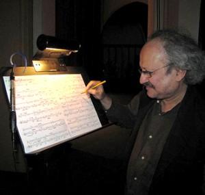 Clarence Barlow (Professor, Corwin Endowed Chair of Composition, UC Santa Barbara)
