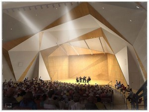 Concert Hall, Conrad Prebys Music Center, UCSD, San Diego