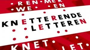 Knetterende Letteren logo