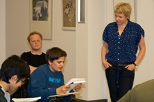 Poetry on the Road: Literatur workshop - Rozalie Hirs, June 7, 2013