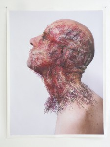 Toine Horvers: Head and neck (sagittal colour)