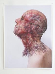 Toine Horvers: Head and neck (sagittal colour)
