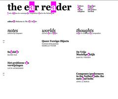 manifest voor een nieuw kunstbegrip – the ear reader