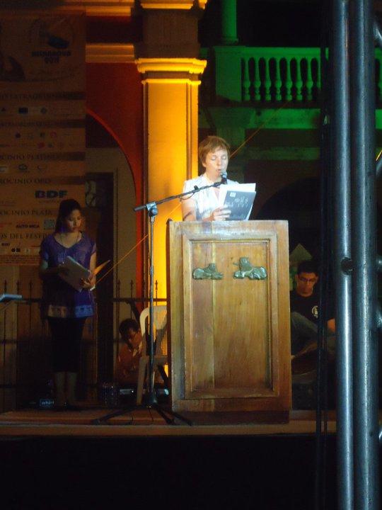 international poetry festival, nicaragua
