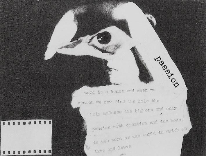 concrete, visuele poëzie & mail-art