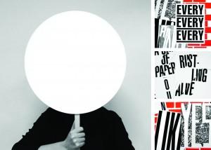 """Zichtboek: Alter Ego 4 (Anna Sherman, Facebook), Cox & Grusenmeyer op basis van het gedicht """"A no"""" uit de bundel gestamelde werken (Amsterdam: Querido, 2012) door Rozalie Hirs"""