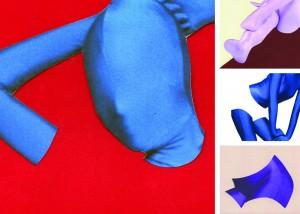 """Zichtboek: Alter Ego 1 (Nicky Geneva, Blogger), Cox & Grusenmeyer op basis van het gedicht """"Lieve lente lacht"""" uit de bundel gestamelde werken (Amsterdam: Querido, 2012) door Rozalie Hirs"""