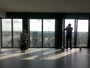 Wallgallery, Rotterdam (on the 37th floor of The Red Apple)