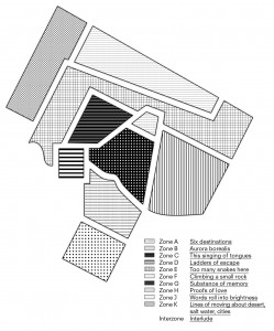 Rozalie Hirs: Curvices, Map in detail (design: Cox & Grusenmeyer; spatial design: Machiel Spaan)