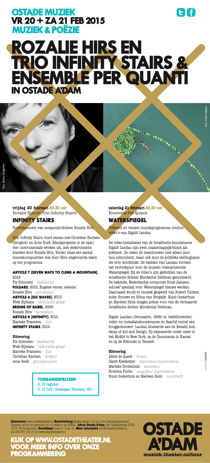 portretconcert: poëzie & muziek, ostadetheater