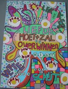 Pam Emmerik: Liefde moet + zal overwinnen, 2012