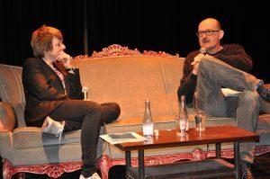 Portretconcert en -optreden van Rozalie Hirs voor Penhuis en Festival van Vlaanderen (gastheer: Alain Demotte)