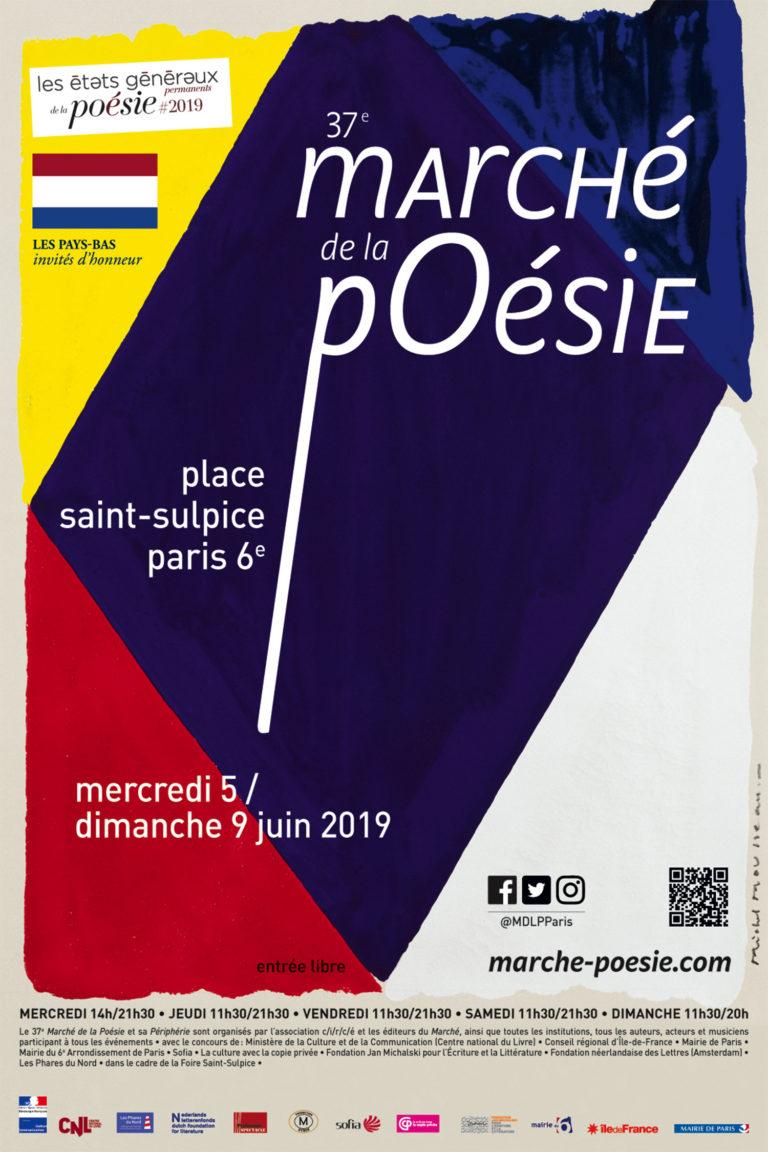 marché de la poésie, parijs